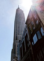 Empire State Building From Street Fine-Art Print
