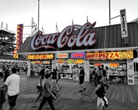Coca Cola Sign - Boardwalk, Wildwood NJ Fine-Art Print
