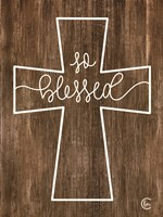 Blessed Cross Fine-Art Print