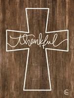 Thankful Cross Fine-Art Print