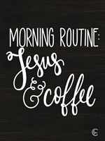 Morning Routine Fine-Art Print