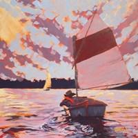 Small Sailboat Fine-Art Print