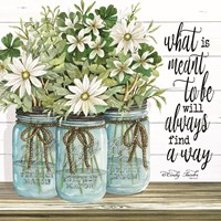 Blue Jars - What is Meant to Be Fine-Art Print