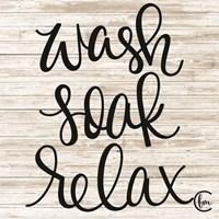 Wash Soak Relax Fine-Art Print