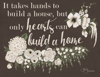 Hearts Can Build a Home Fine-Art Print