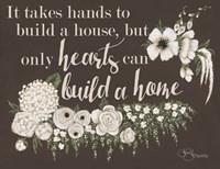 Hearts Can Build a Home Fine-Art Print