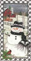 Rusty Truck Snowman Fine-Art Print