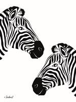 Pretty Zebras Fine-Art Print