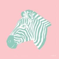 Sweet Green Zebra Fine-Art Print