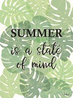 Tropical Summer Quote Fine-Art Print