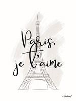 I Love Paris Fine-Art Print
