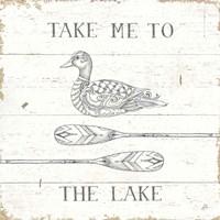 Lake Sketches VII Fine-Art Print