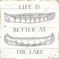 Lake Sketches V Fine-Art Print