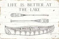 Lake Sketches II Fine-Art Print