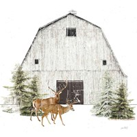Wooded Holiday VI Fine-Art Print