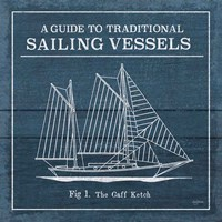 Vintage Sailing Knots XI Fine-Art Print
