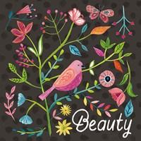 Budding Beauty III Dark Fine-Art Print