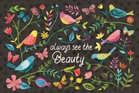 Budding Beauty I Dark Fine-Art Print