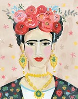 Homage to Frida Neutral Fine-Art Print