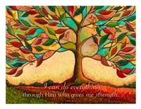 Tree Splendor II (I can do everything through Him...) Fine-Art Print