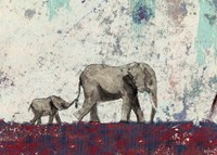 Elephant March Fine-Art Print
