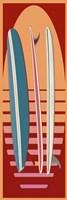 Surfboard Sunset Fine-Art Print