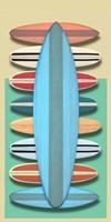 Surfboards - Red Fine-Art Print