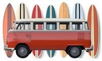 Surfer Van Fine-Art Print