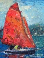 Red Sail Fine-Art Print