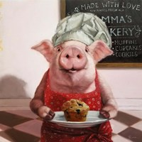 Pinkies Bakery Fine-Art Print
