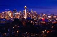 Night Seattle Fine-Art Print