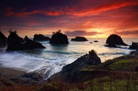 Secret Beach, Oregon Coast Fine-Art Print