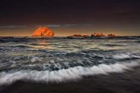 Sunrise Face Rock, Oregon Fine-Art Print
