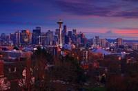 Sunset Seattle Fine-Art Print