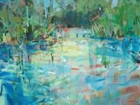 Evening Creek Blues Fine-Art Print