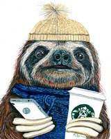 Urban Sloth Fine-Art Print