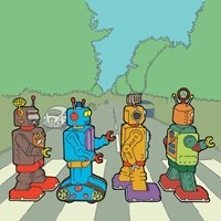 Abbey Road Bots Fine-Art Print