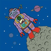 Asteroid Bot Fine-Art Print