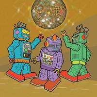 Boogie Bots Fine-Art Print