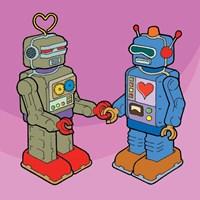 Love Bots Fine-Art Print