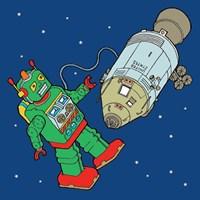 Spacebot Fine-Art Print