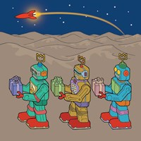Wise Bots Fine-Art Print