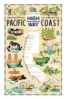 Pacific Coast Highway Fine-Art Print