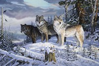 Sentinels Of The Forest Fine-Art Print