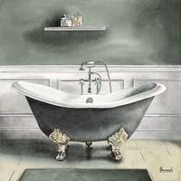 Smoky Gray Bath I Fine-Art Print