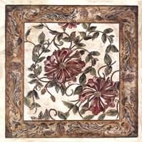 Zinnia Tapestry Fine-Art Print