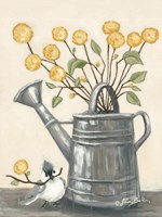 Sharing Flowers with a Friend Fine-Art Print