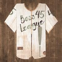 Vintage Sports Boss League Fine-Art Print