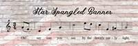 Star Spangled Banner Sheet Music Fine-Art Print