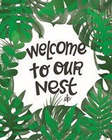 Welcome to Our Nest Fine-Art Print